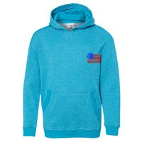 Youth Glitter French Terry Hooded Sweatshirt Thumbnail